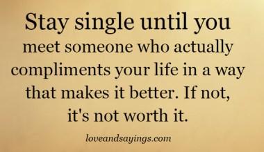 It's not worth it