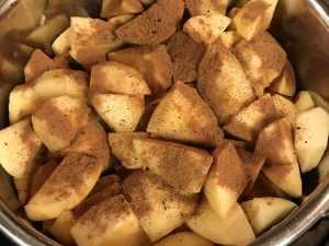 instant pot seasoned applesauce