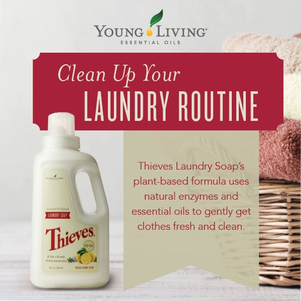 essential oils and laundry