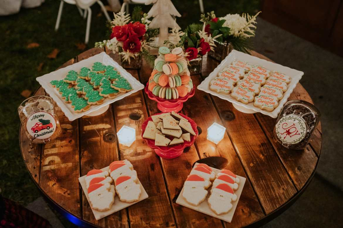 Atlanta Event Photographer Christmas Party Christmas Cookies