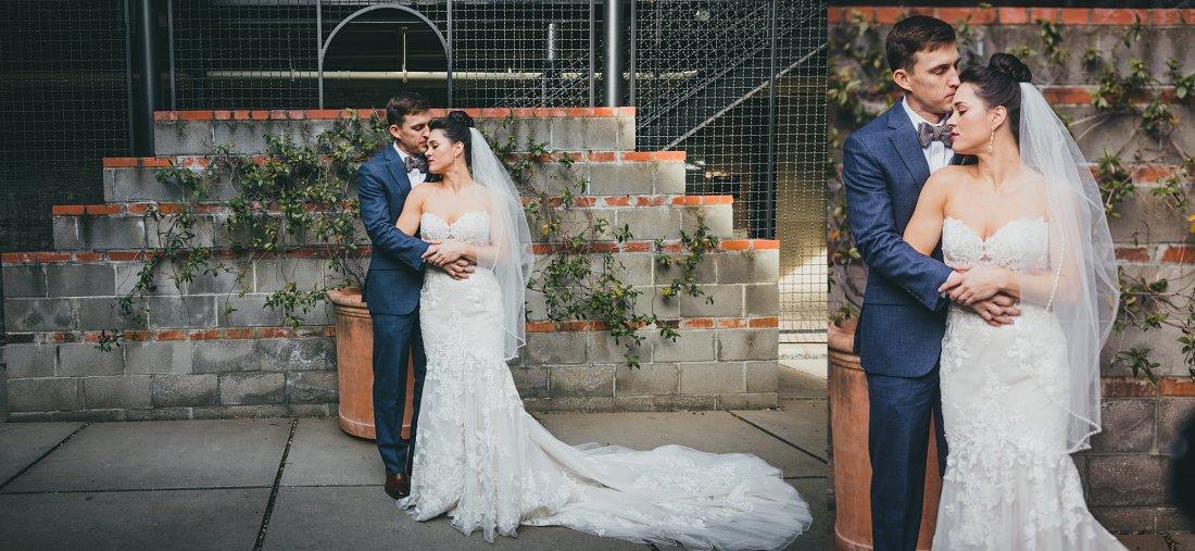 Atlanta Weddng Photographers Westside Warehouse Christmas Wedding