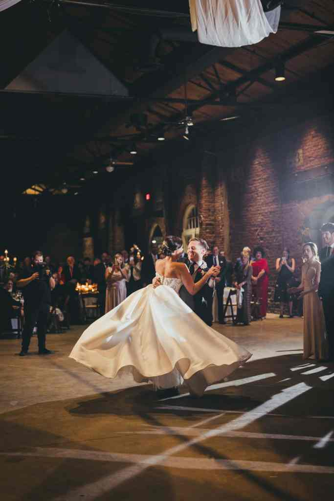 Atlanta Wedding Photographers Georgia Freight Depot First Dance