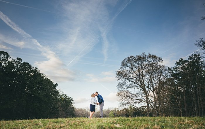 Spring Kennesaw Engagement Session Atlanta Wedding Photographers