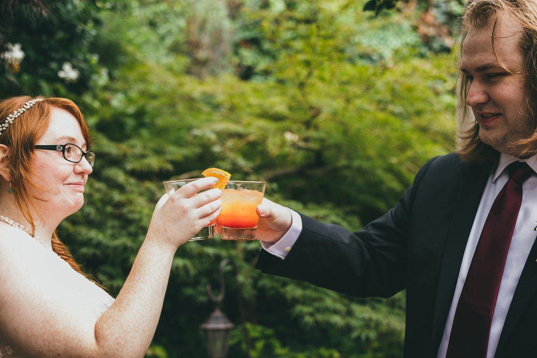 Wahoo Grill Intimate Wedding Ceremony Atlanta Wedding Photographers