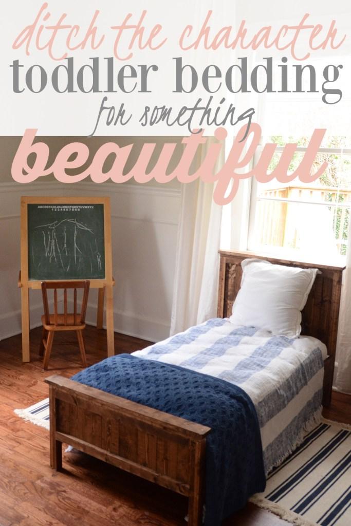 stylish toddler bedding