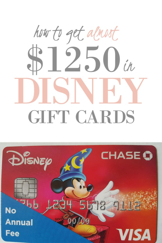 how to earn free disney gift cards pinterest
