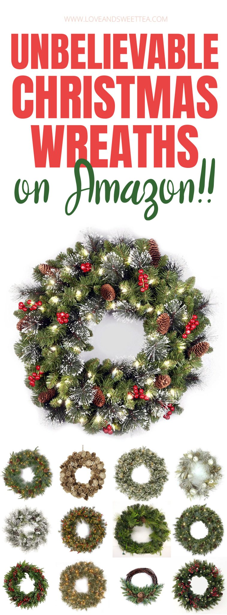 im going to get one of these christmas wreaths from amazon for my front