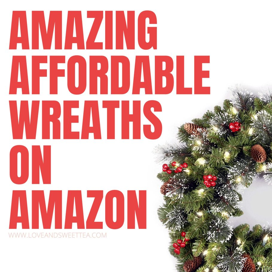 I'm going to get one of these Christmas wreaths from Amazon for my front door this year! They're gorgeous wreath ideas and save tons of time vs DIY Christmas wreaths!