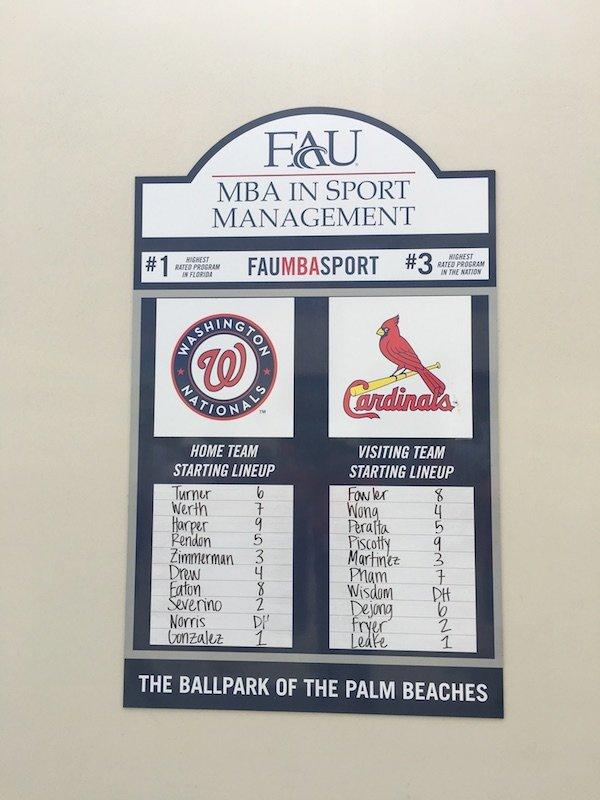 Minor League game at Palm Beach Ballpark