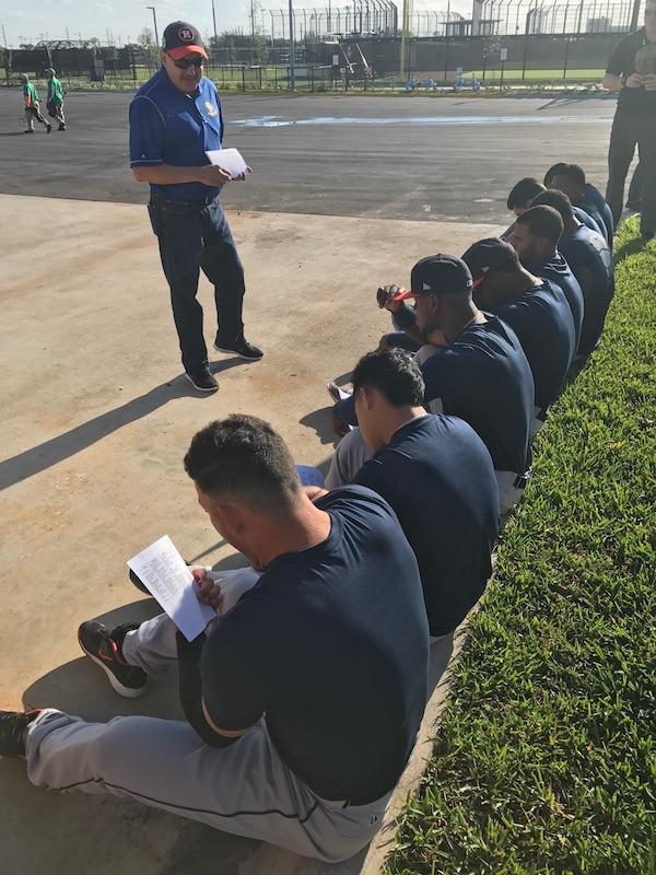 Houston Astros Spring Training Players