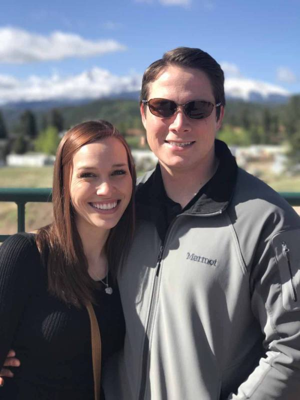 Mark And Angela In Colorado