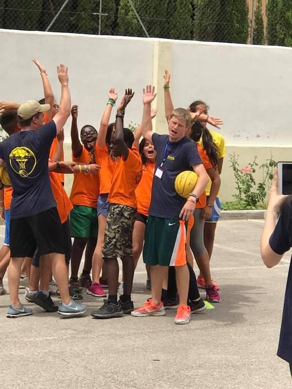 Cheering BasketCamp