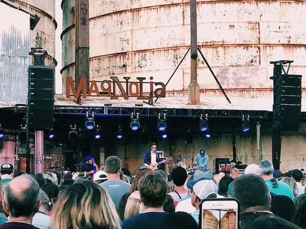Jon Foreman Performing At Silobration