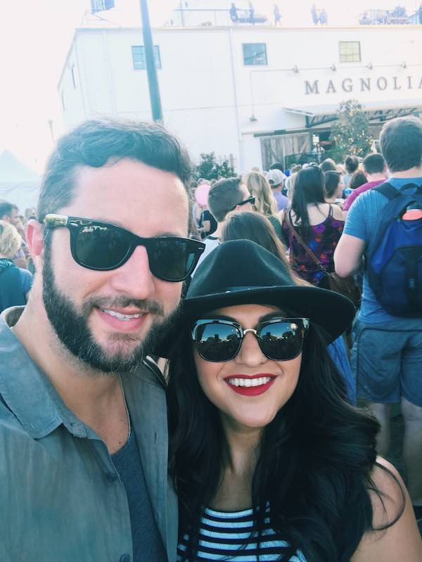 Magnolia Market Selfie