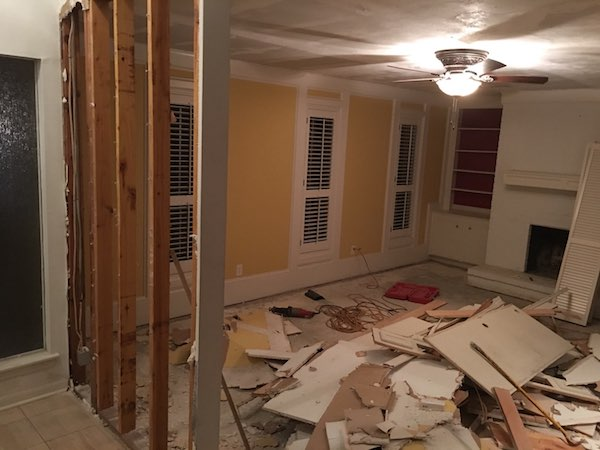 Tearing Down Walls Home Renovations
