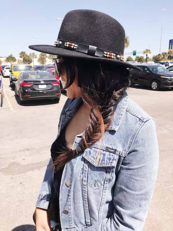 Fishtail Braid With A Hat