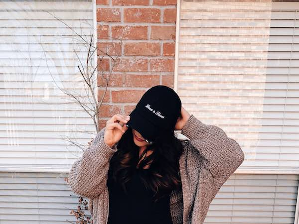 Love And Tacos Trucker Hat