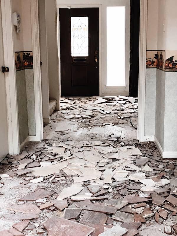 Loaded Tile Removed