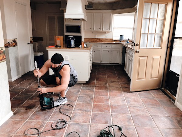 How To Remove Tile Floor A Diy Guide