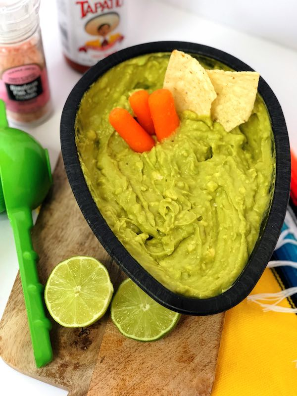 A great low carb way to enjoy guacamole is by dipping carrots instead of chips! So yummy without the extra carbs!
