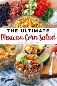 The Ultimate Mexican Corn Salad that will have your mouth watering and your friends asking for more!