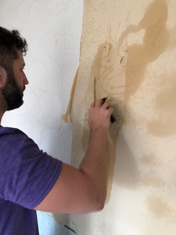 How To Remove Wallpaper - DIY 10