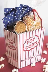 A Diy Popcorn Gift Basket is perfect for our popcorn loving dad
