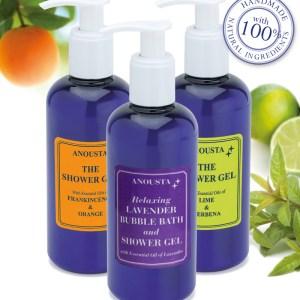 Anousta Shower gel / Bubble bath selection