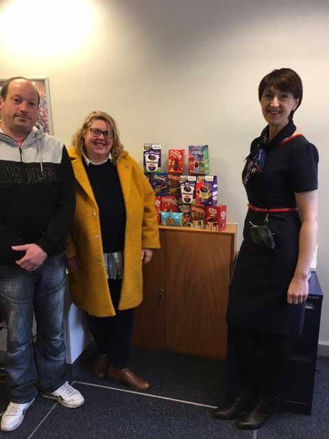 Easter eggs for Love Barrow families children