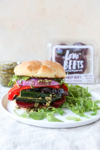 BEET RED WHITE AND BLUE! Love Beets