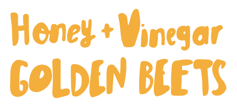 Honey and Vinegar Golden Beets Light Sweet Diced