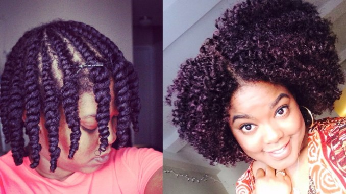 natural hair | flat-twist out – love black hair