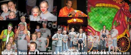 Ringling Bros and Barnum & Bailey presents DRAGONS Circus 2012