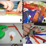 Thanksgiving Crafts: Apple and Carrot Turkey