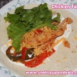 Vegetable and Chicken Fajita Recipe