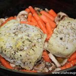 Slow Cooker Peperoncini Pork Roast with Vegetables