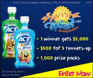 Enter the ACT Swish 'n Splash Sweepstakes for a chance to win $5000
