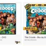The Croods DVD only $9.95 and Blu Ray only $16.95!