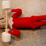 Elf on the Shelf Ideas – Lifting Weights