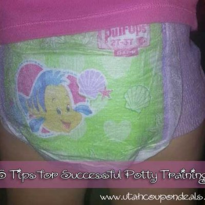 5 tips for successful potty training