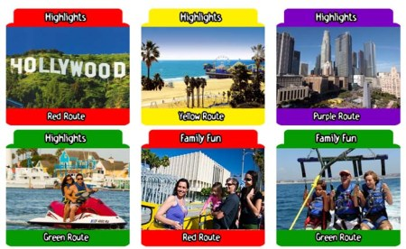 StarLine City Sight Seeing Los Angeles Itineraries