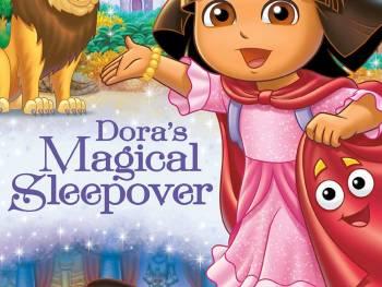 Dora the Explorer: Dora's Magical Sleepover