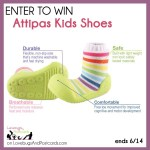 GIVEAWAY: Attipas Shoes for Kids (ends 6/14)