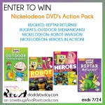 Nickelodeon DVD Pack Giveaway (Rugrats, Robot Invasion, and Heroes in Action) (ends 7/24)