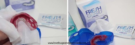 Fresh Guard™ delivers a Complete Clean for Retainers, Mouth Guards and Removable Braces #FreshGuard #spon