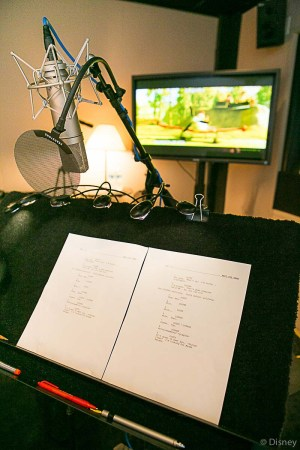 Recording Booth Session at Disney Toon Studios - Voice of Dipper from Planes: Fire and Resuce