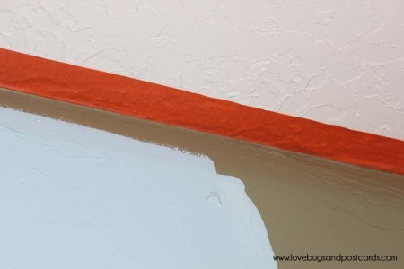 FrogTape® kept my textured surfaces smooth while I painted