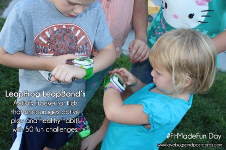 LeapFrog LeapBands #FitMadeFun Day