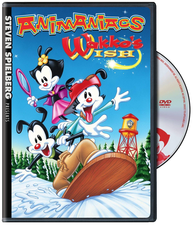 Steven Spielberg Presents Animaniacs Wakko S Wish On Dvd