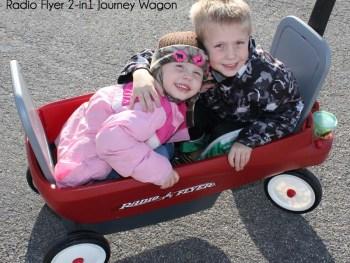 Radio Flyer 2-in1 Journey Wagon